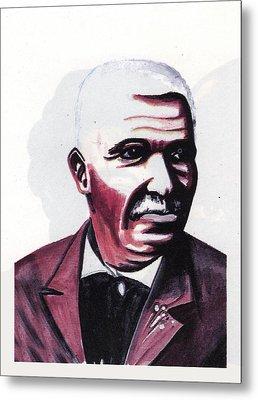 Georges Washington Carver Metal Print by Emmanuel Baliyanga