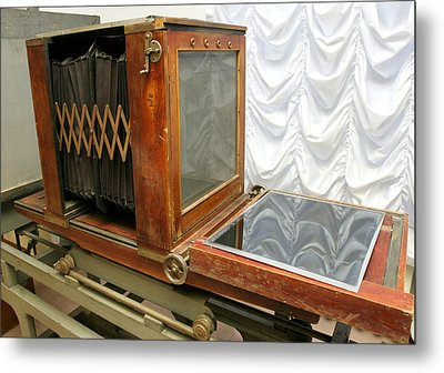 German Photograph Copier From 1930 Metal Print by Ria Novosti