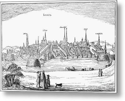 Germany: L�beck, 1616 Metal Print by Granger