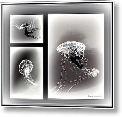Ghostly Encounter Metal Print by Danielle  Parent
