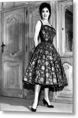 Gina Lollobrigida, 1950s Metal Print by Everett