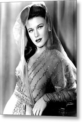 Ginger Rogers, In A Paramount Studios Metal Print by Everett
