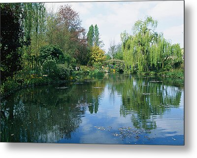 Giverny Gardens, Normandy Region Metal Print by Nicole Duplaix