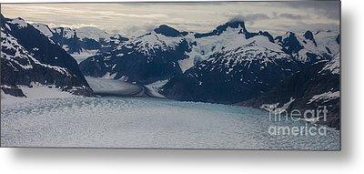 Glacial Panorama Metal Print by Mike Reid