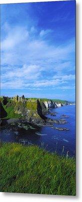 Glenarriff Falls, The Antim Glens, Co Metal Print by The Irish Image Collection