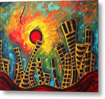 Glimmer Of Hope By Madart Metal Print by Megan Duncanson