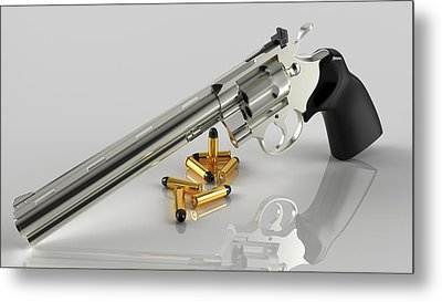 Glorious Colt Metal Print by Rimantas Vaiciulis