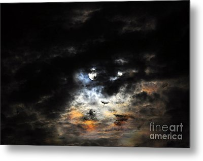 Glorious Gibbous - Wide Version Metal Print by Al Powell Photography USA