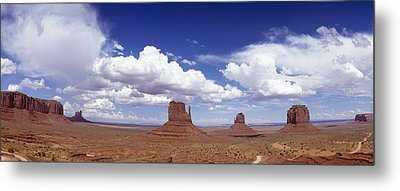 Glove Buttes And Clouds Metal Print by Axiom Photographic
