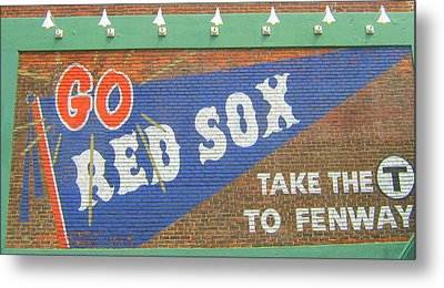 Go Sox Metal Print by Bruce Carpenter