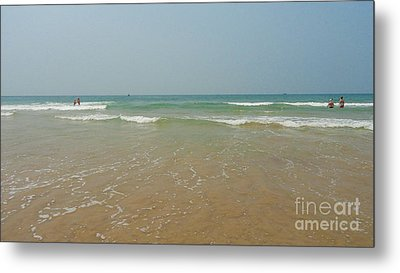 Goa Beach Metal Print by Conceptioner Sunny