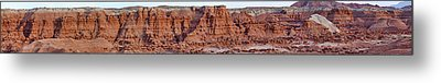 Goblin Valley With Only Goblins In Sight Metal Print by Gregory Scott