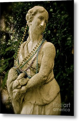 Goddess Of The Bayou Metal Print by Laura Brightwood
