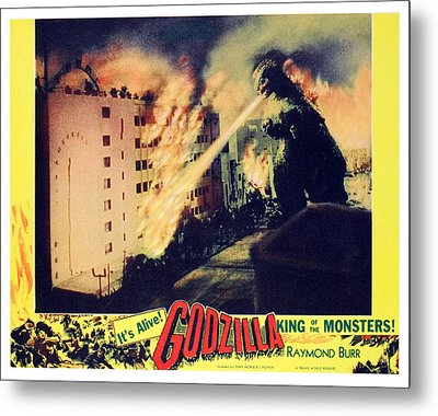 Godzilla, King Of The Monsters, 1956 Metal Print by Everett