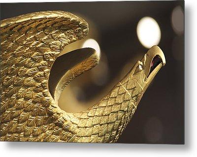 Golden Eagle Metal Print by Mike McGlothlen
