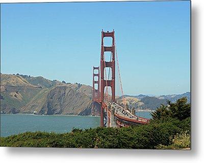 Golden Gate Metal Print by Wendi Matson