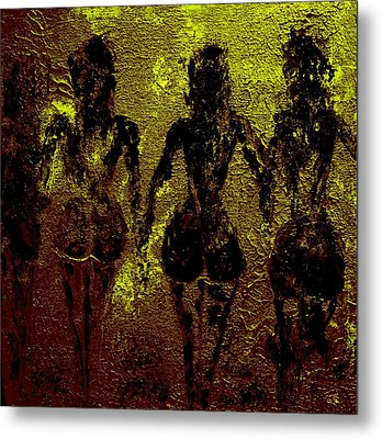 Golden Harmony Metal Print by Piety Dsilva