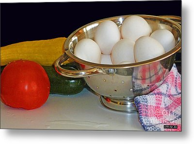 Good Food Metal Print by Methune Hively