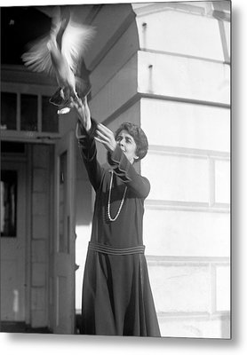 Grace Coolidge 1879-1957, First Lady Metal Print by Everett