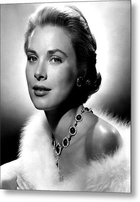 Grace Kelly, 1955 Metal Print by Everett