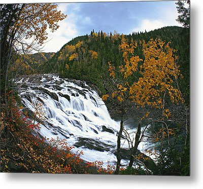 Grand-sault Falls On Madeleine River Metal Print by Yves Marcoux