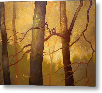 Graphic Trees Metal Print by Jonathan Howe