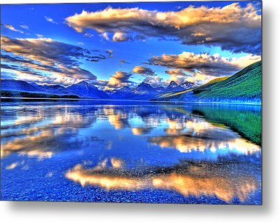 Great Glacier Lake Metal Print by Scott Mahon