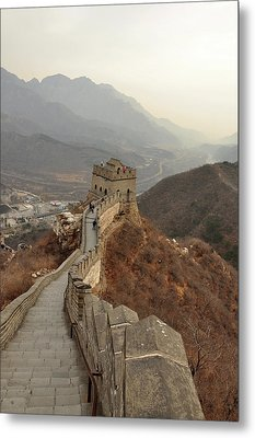 Great Wall Of China Metal Print by Asifsaeed313