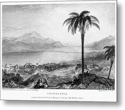Greece: Kefalonia, 1833 Metal Print by Granger