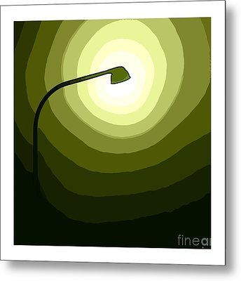 Green Is Hope Metal Print by Stefan Kuhn