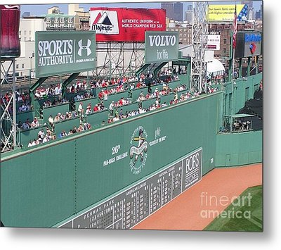 Green Monster Metal Print by Kevin Fortier