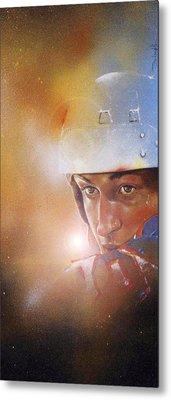 Gretzky Metal Print by Gary McLaughlin