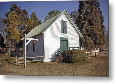 Griffiths Chapel 1850 Metal Print by Brian Wallace