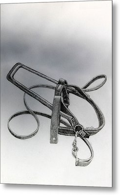 Guide Dog Harness Metal Print by Hanne Lore Koehler