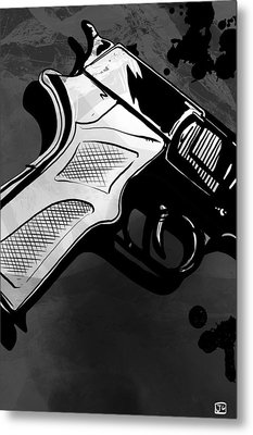 Gun Number 1 Metal Print by Giuseppe Cristiano