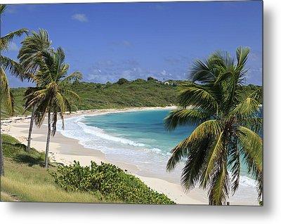 Halfmoon Bay, Antigua And Barbuda Metal Print by Michele Falzone