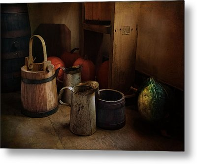 Handmade And Homegrown Metal Print by Robin-lee Vieira