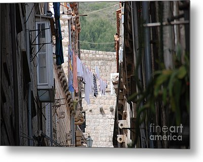 Hanging Out In Dubrovnik Metal Print by Barry Luroe