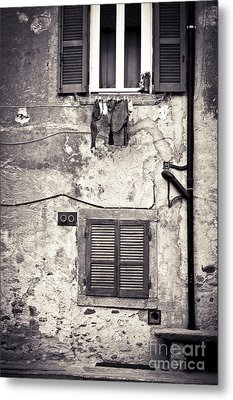 Hanging Out To Dry Metal Print by Silvia Ganora