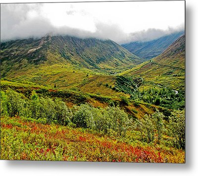Hatcher Pass - Alaska Metal Print by Cheryl Colaw