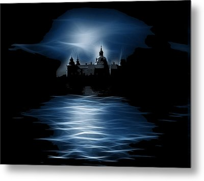 Haunted Metal Print by Tilly Williams