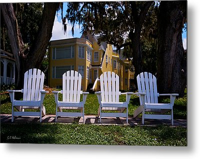 Have A Seat Metal Print by Christopher Holmes