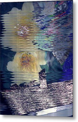 Hazy Reflections Metal Print by Anne-Elizabeth Whiteway