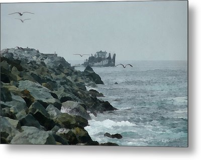 Heading Out Metal Print by Ernie Echols