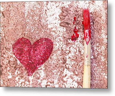 Heart  Metal Print by Igor Kislev