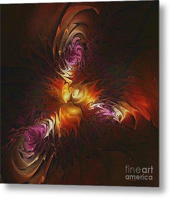 Heat Of Passion Metal Print by Deborah Benoit