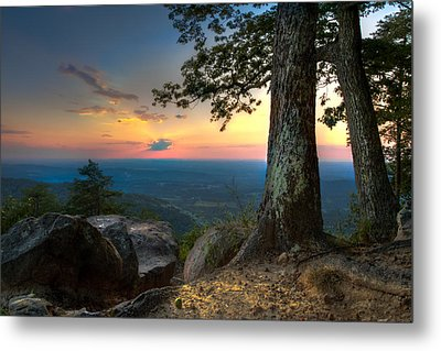 Heaven On Earth Metal Print by Debra and Dave Vanderlaan