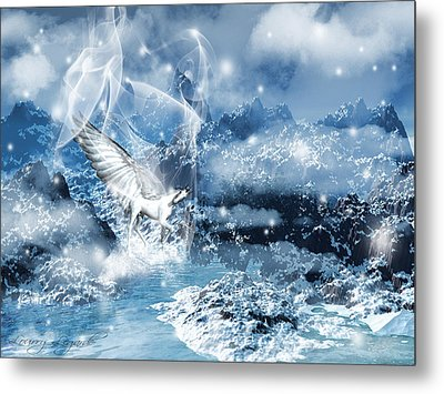 Heavenly Interlude Metal Print by Lourry Legarde