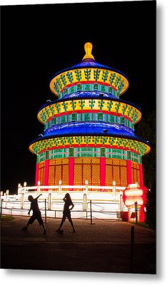 Heavenly Temple Metal Print by Semmick Photo