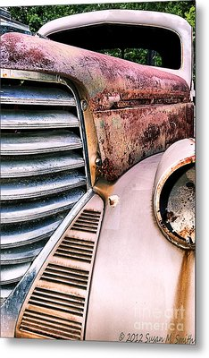 Heavy Metal Metal Print by Susan Smith